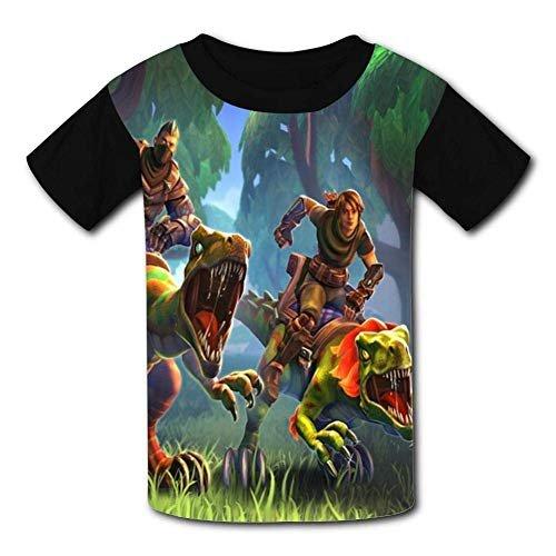 Short Sleeve Cow Pig Chicken Shirts for Kids Fashion Sweatshirt with Falbala 2-6T