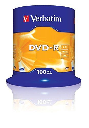 ★ 50 DVD+R VERBATIM 43550 TARRINA ★